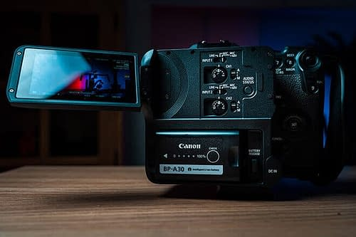 EOS C70 Display features