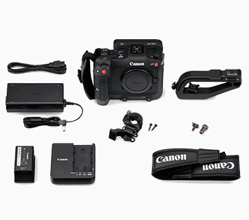 EOS C70 Battery feature & slots & Charger