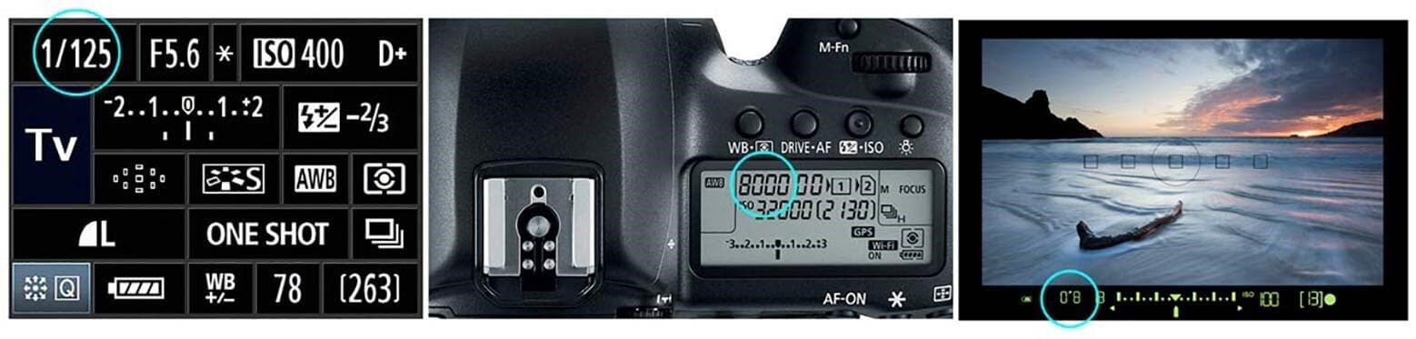 How to Setting Shutter Speed in your camera