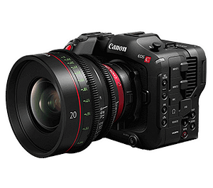 Canon EOS C70 size & weight & Key facilities