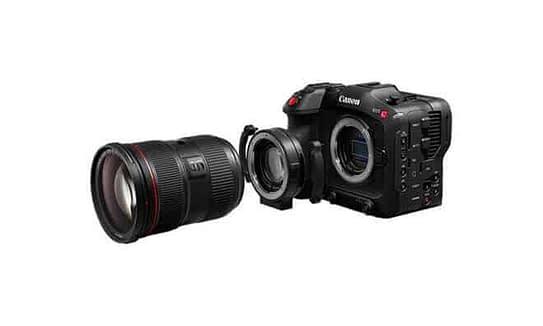 Canon EOS C70 Lens features